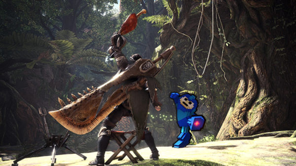 mega man monster hunter