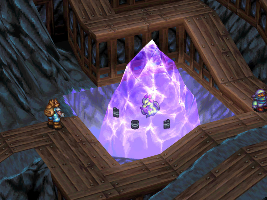 breath of fire 3 cristal
